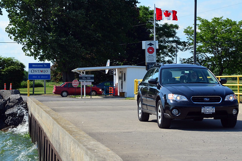 CBSA checkpoint, Wolfe Island, Ontario