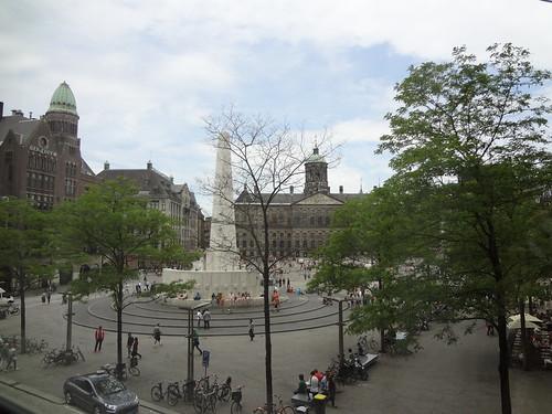 Sightseeing in Amsterdam