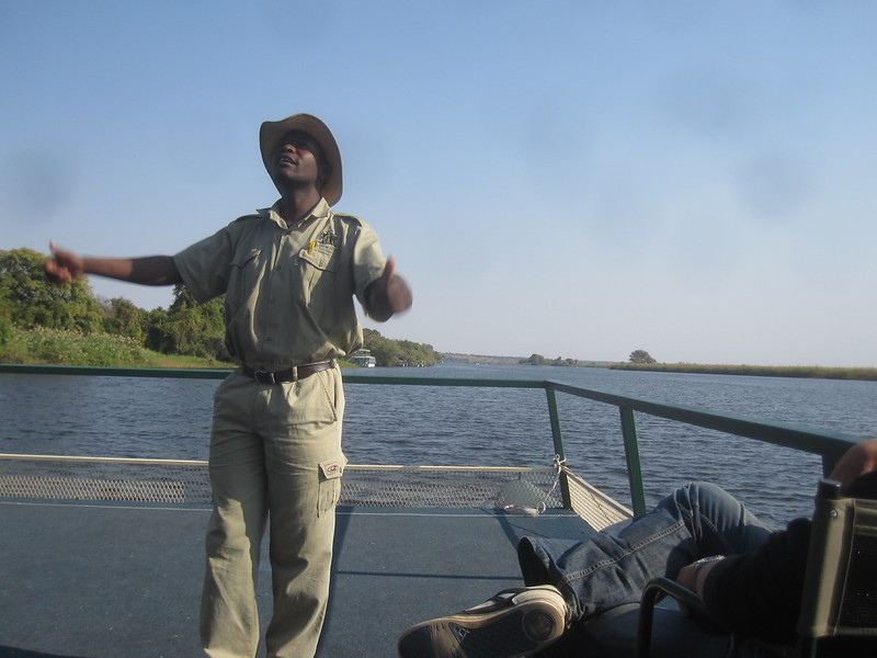 Botswana Captain Speaks Africa