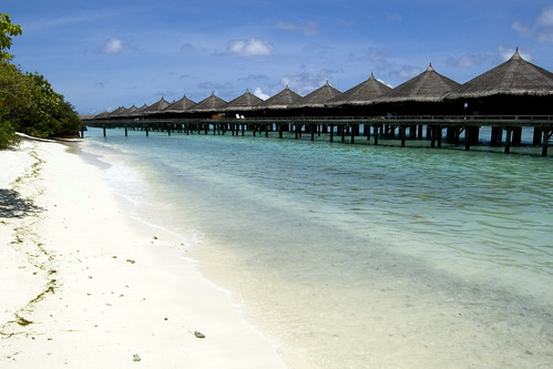 Maldives Islands. Kuramathi Island Resort