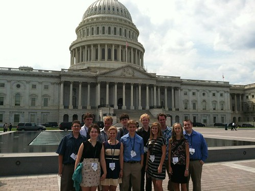 NSLC POLI Visits the Capitol