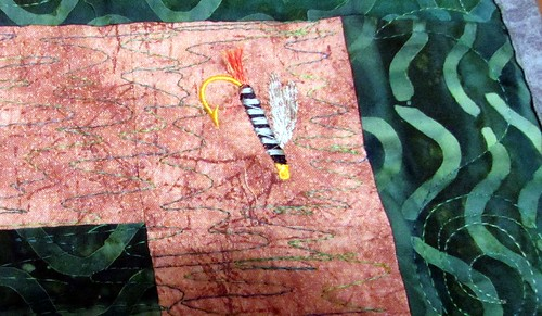 about a trout quilt