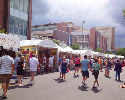 Cherry Creek Arts Festival 2012- Crowd