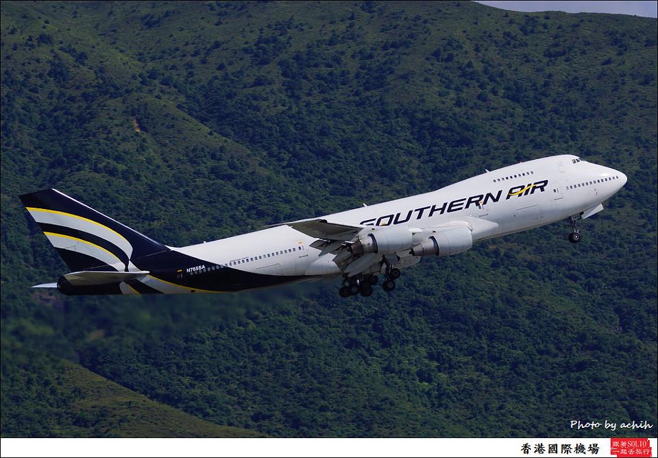 Southern Air / N765SA / Hong Kong International Airport