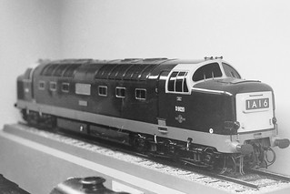 Model of D9020 'Nimbus' presented to the Science Museum