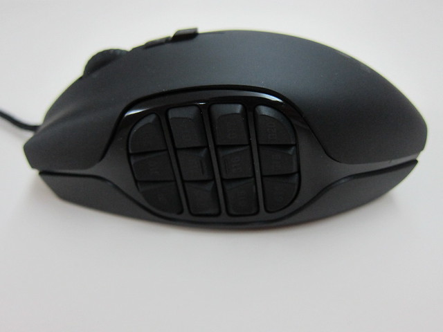 Logitech G600 MMO Gaming Mouse - Left Side View