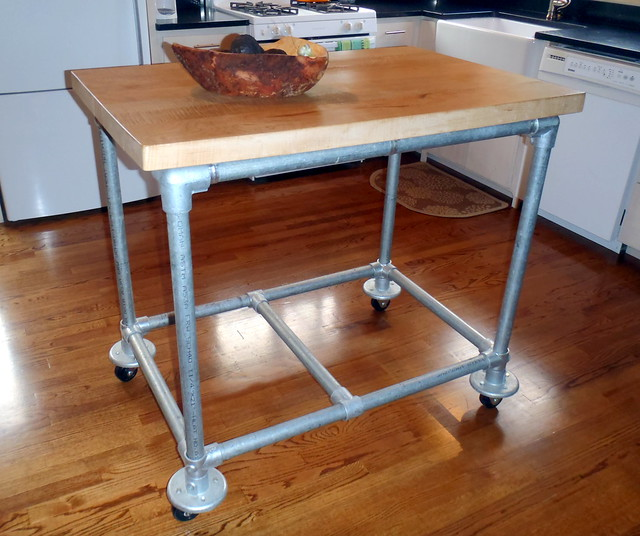 Rolling Kitchen Island Flickr Photo Sharing