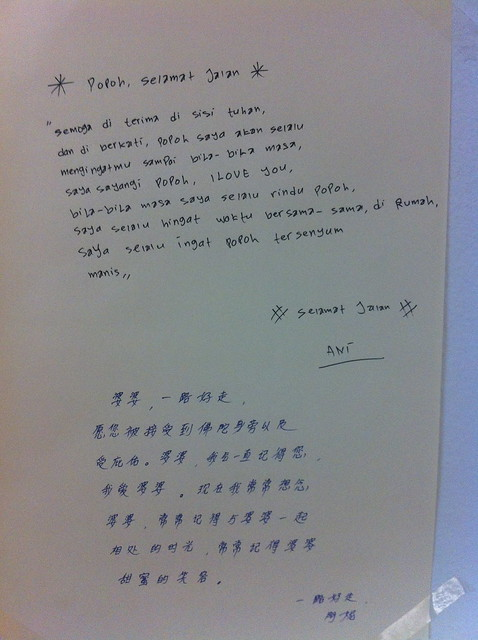 Photo:Letter to grandma by Ani By edmundyeo
