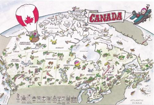Canada Mapcard