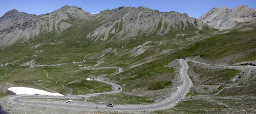 Col Agnel - French side