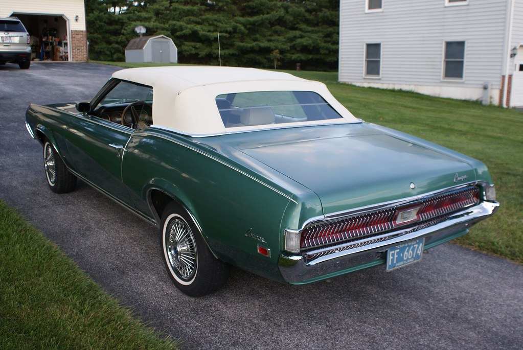 67 Cougar XR7 GT & 69 Cougar Vert For Sale - The Mustang