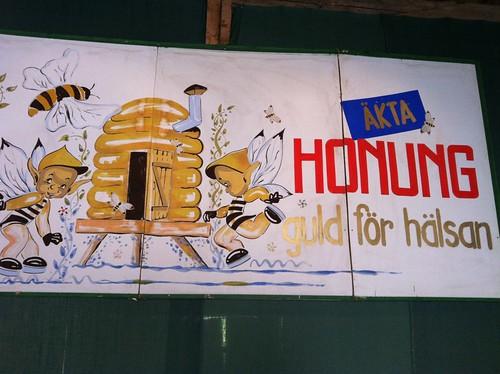 Äkta honung