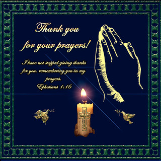 angel thanks  for your  prayers