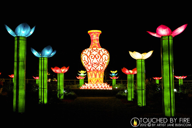 Lantern festival missouri botanical garden Missouri botanical garden lantern festival
