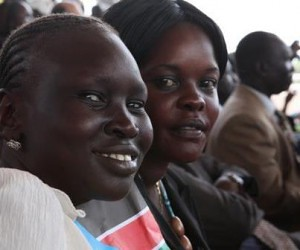 Supermodel Alek Wek is originally from South Sudan. She was in London for the 2012 Olympic Games. by Pan-African News Wire File Photos