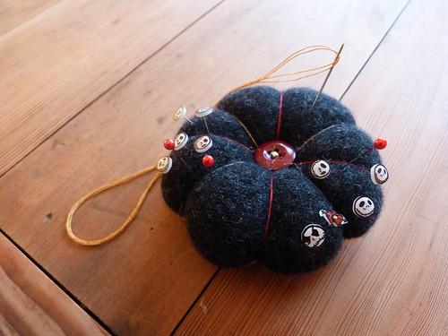 Pincushion + Custom Pins