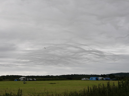 Wierd clouds over the camp-site