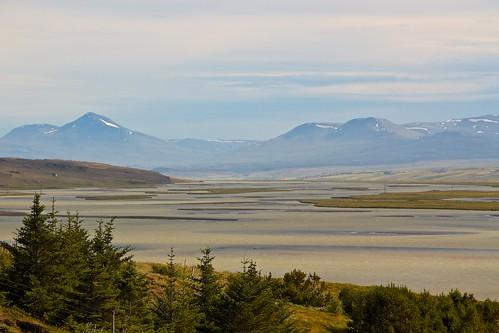 colour landscape iceland estuary strung saudarkrokur johnstrung
