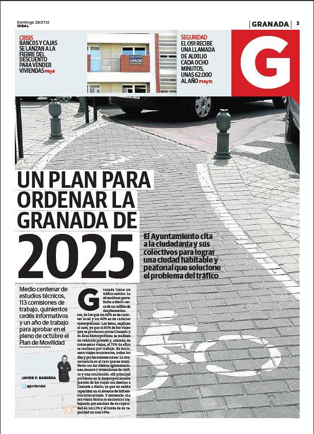 Páginas del Diario Ideal de Granada