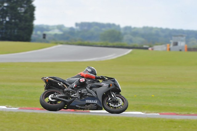 Motorcycle at Snetterton