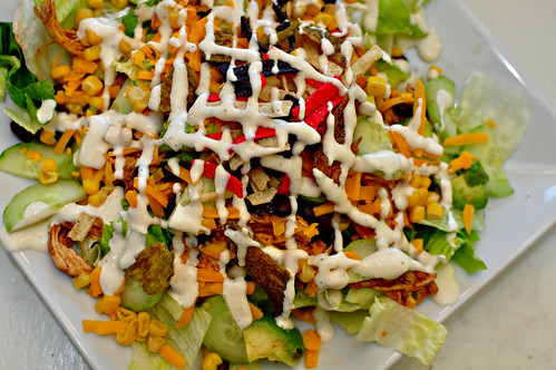 Chicken Enchilada Salad
