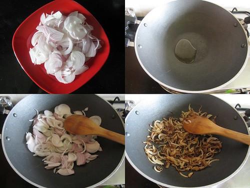 Chettinad Mushroom Biryani-step1