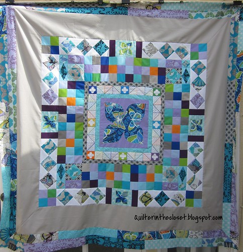 Medallion Quilt top
