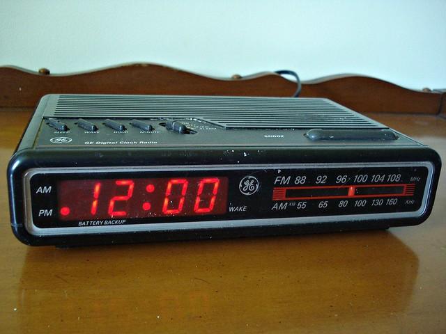 1980s ge digital clock radio flickr photo sharing. Black Bedroom Furniture Sets. Home Design Ideas