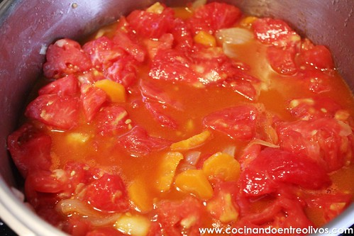 cocinar tomate