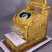 Vintage Cash Register 50th Wedding Anniversary cake