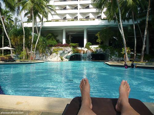 Equatorial Hotel Waterfall