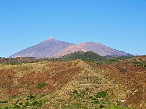 Mount Teide from Santiago del Teide, Tenerife