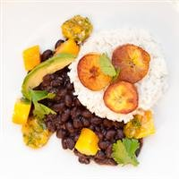coconut rice beans