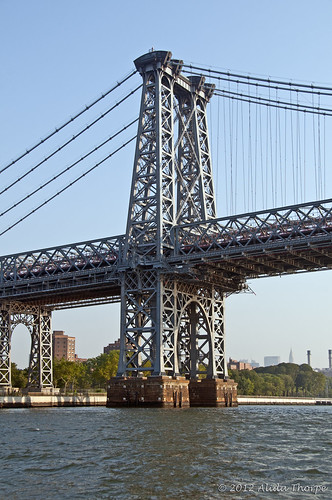 Williamsburg Bridge by Alida's Photos