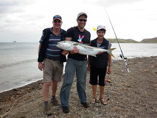 Tom with Yellowtail Kingfish