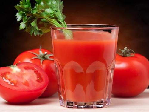 9 Tomato juice