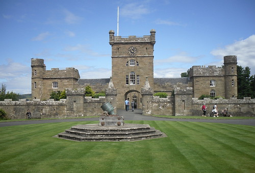 Culzean Castle Clocktower Building