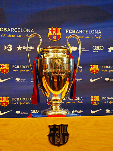 FC Barcelona, Champions League Trophy