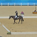 Olympic eventing dressage day