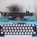 vintage typewriter and curiosities by rachel j b
