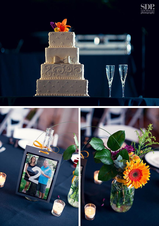 Vox Theater wedding reception