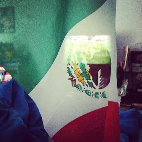 ¡Vamos México! They better make waking up early worth it. #MEXvsBRA