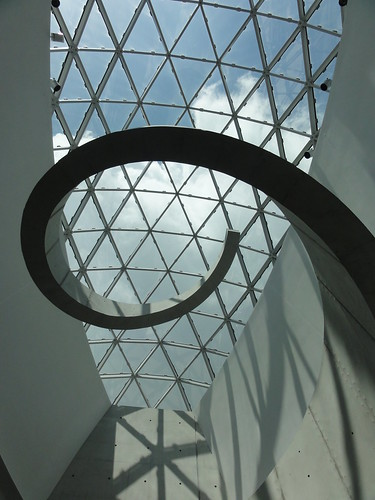 Dali Museum-Top of the staircase