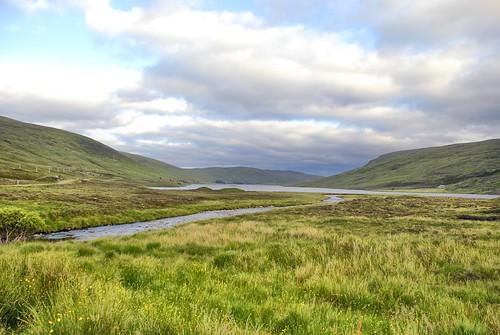 Loch Merkland Landscape