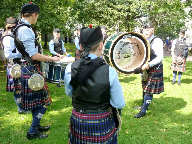 Alyth & District Pipe Band, Glasgow Green
