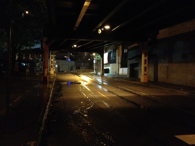 Some dark street