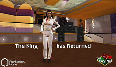 Casino - The King Outfit in PlayStation Home