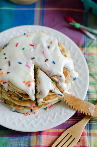 Birthday Cake Pancakes 3