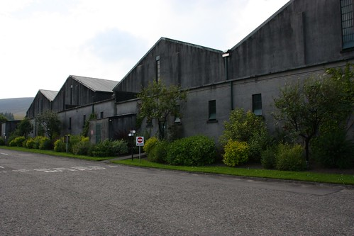 Warehouses at The Glenlivet Distillery