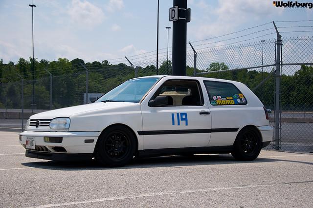 PCA autocross - Mk3 Golf Sport 8v